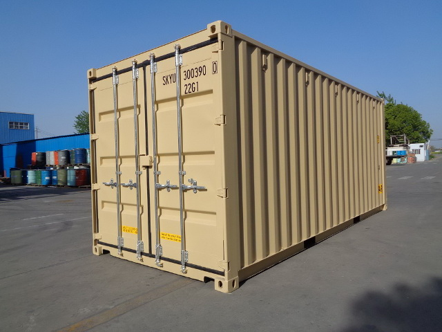 container 20DD front left