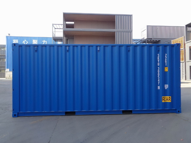 container 20DD left side