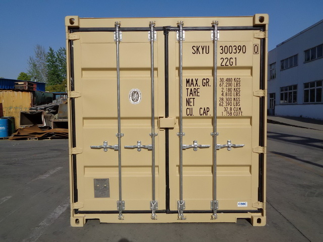 container 20DD rear