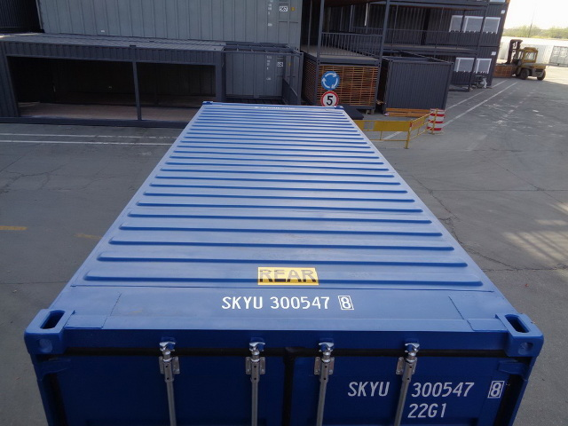 container 20DD roof