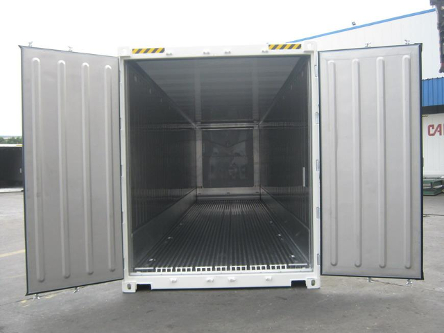 container 40 HC reefer interno