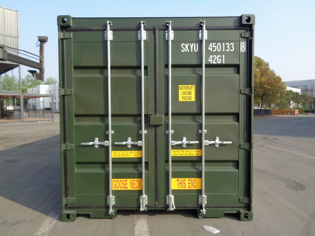 container 40DD front
