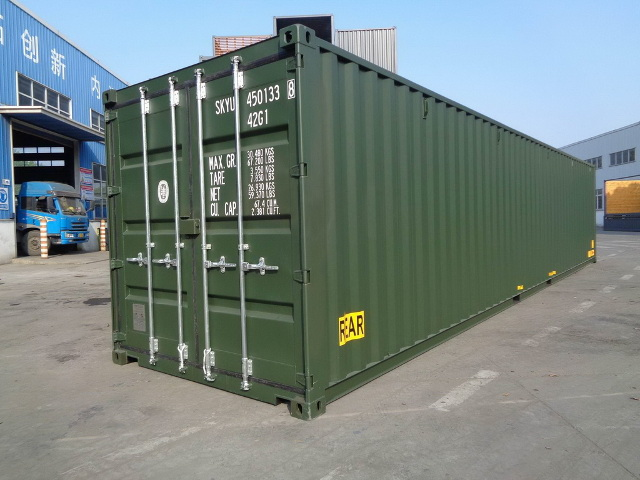 container 40DD rear right