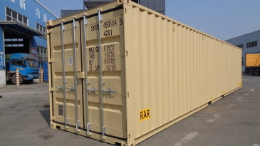 Container 40' DD